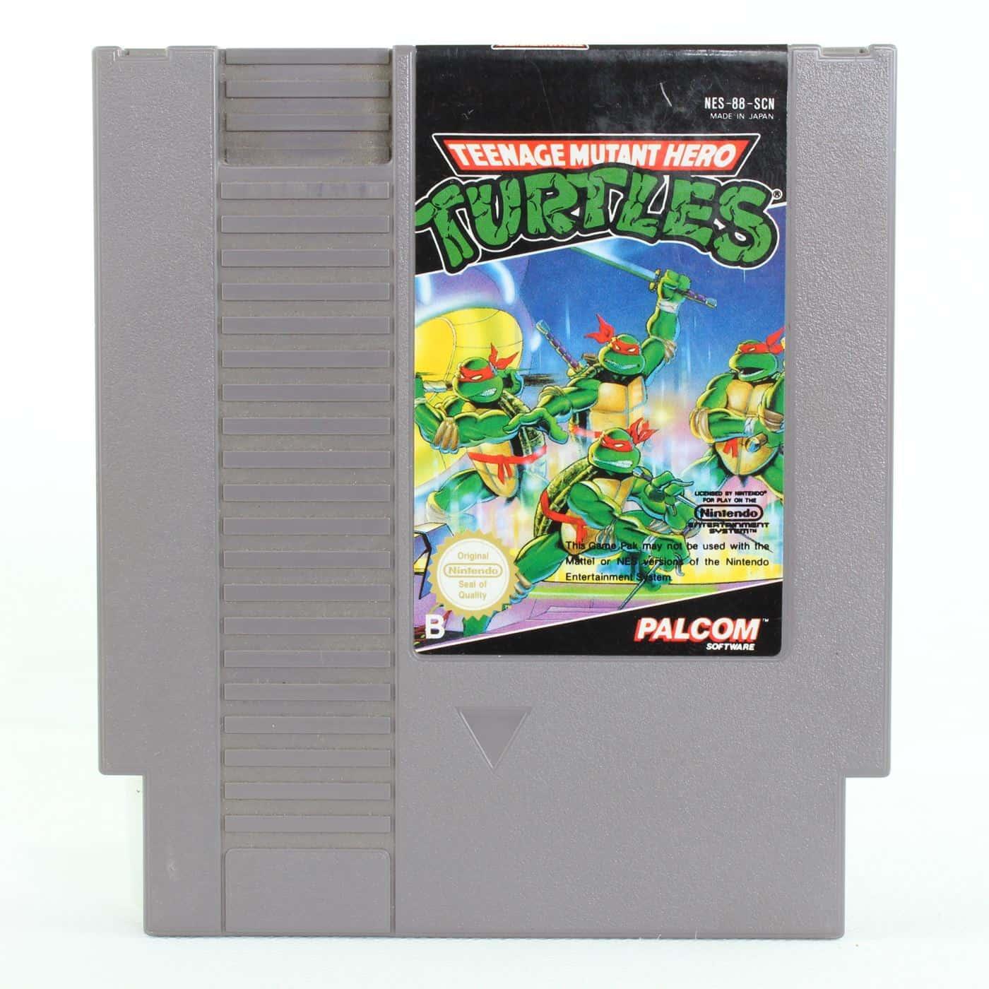 Teenage Mutant Hero Turtles (Nintendo NES, PAL-B, SCN)