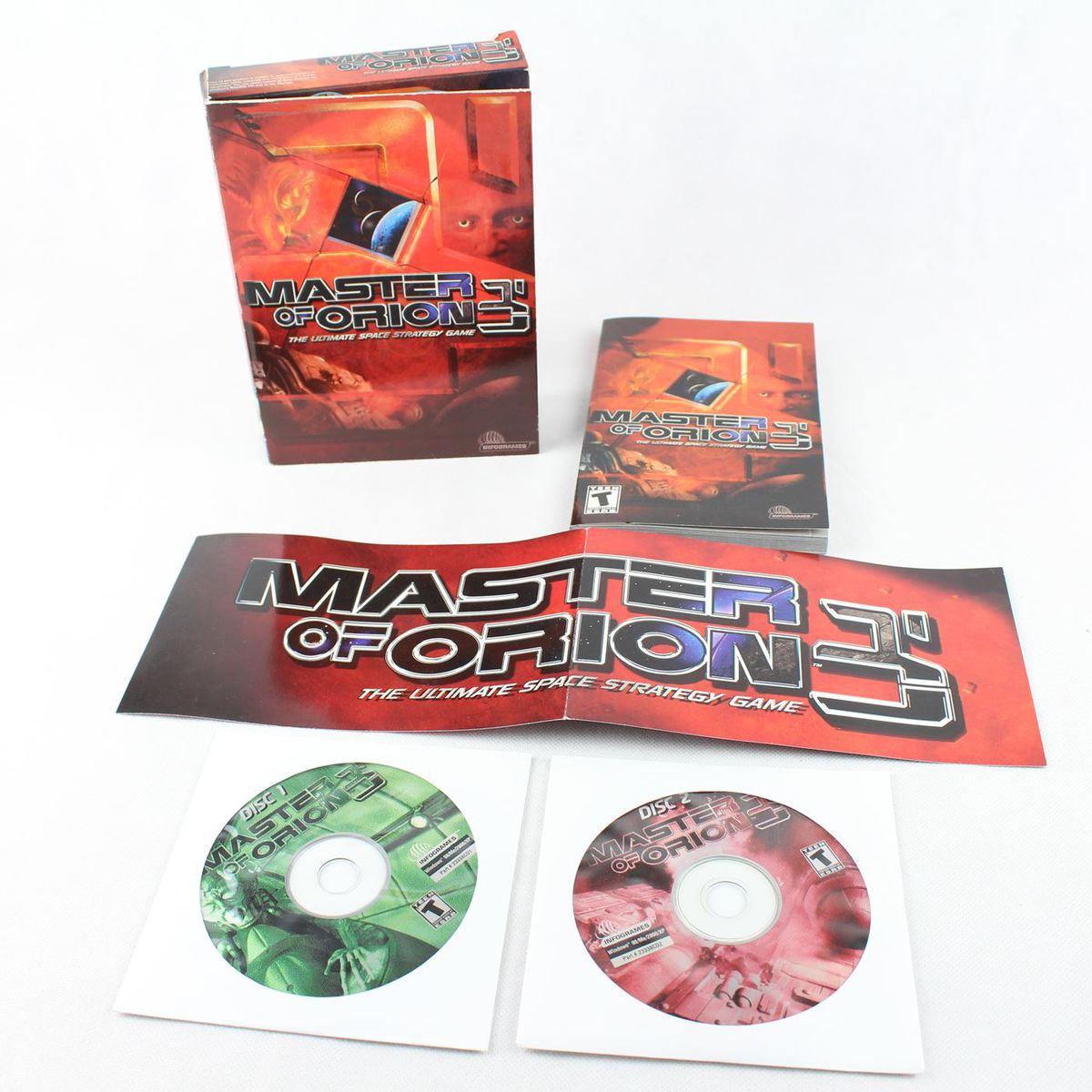 Master of Orion 3 (PC Small Box, 2003, Quicksilver / Infogrames)