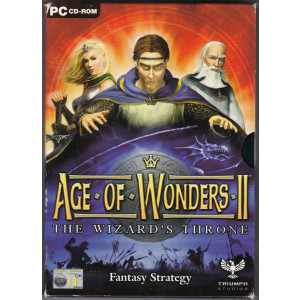Age of Wonders II: The Wizard's Throne (PC Small Box)