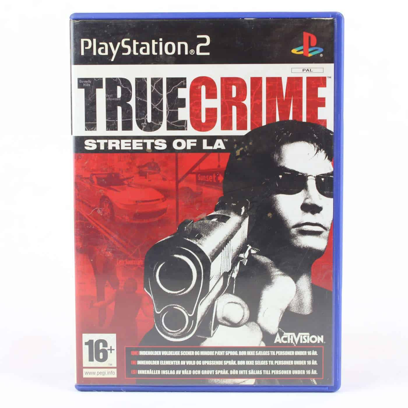 True Crime Streets of LA (Playstation 2)