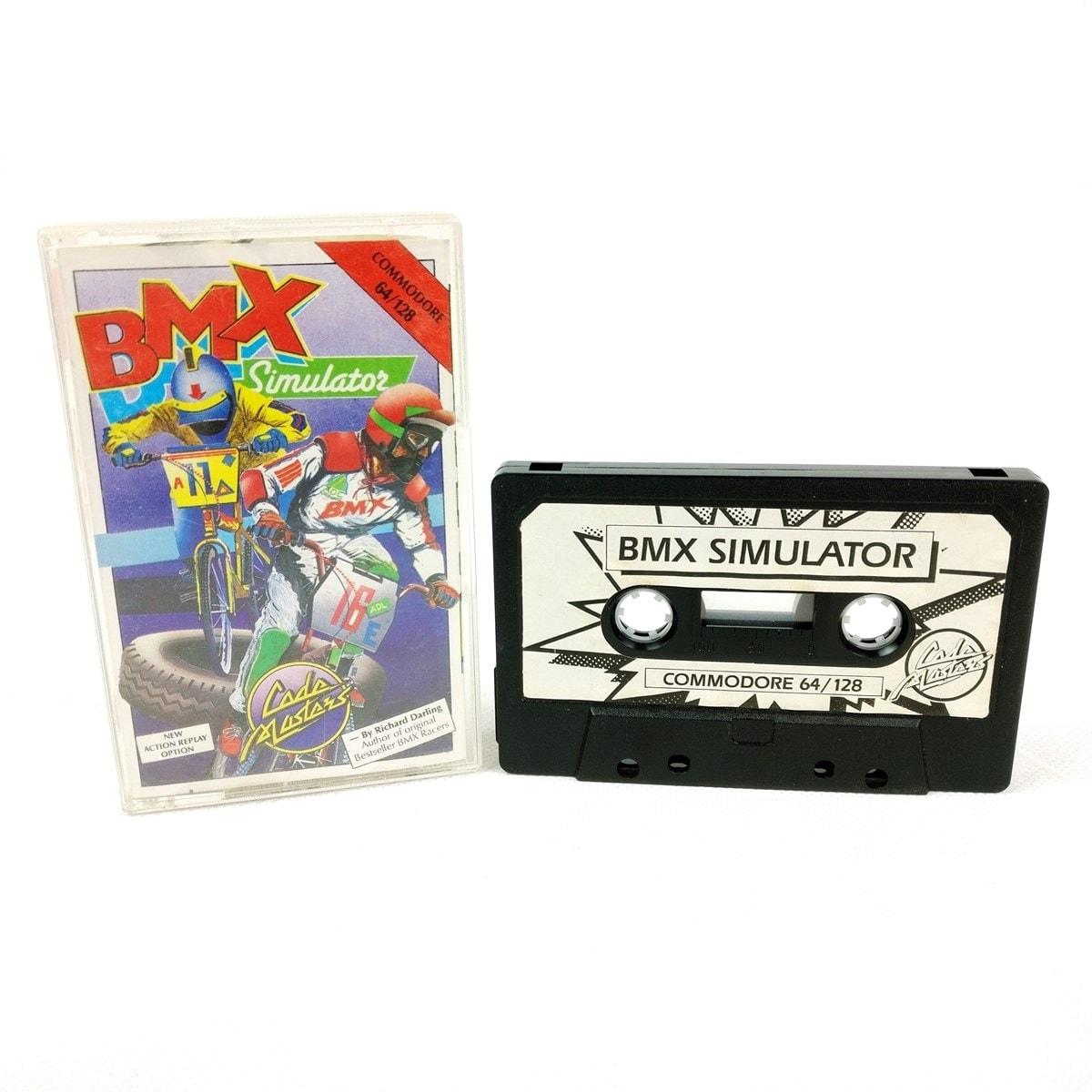 BMX Simulator (C64 Cassette)