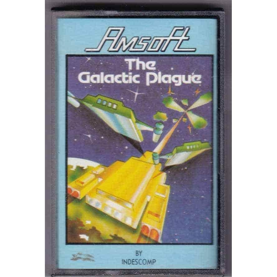 The Galactic Plague (Amstrad CPC 464 Cassette)