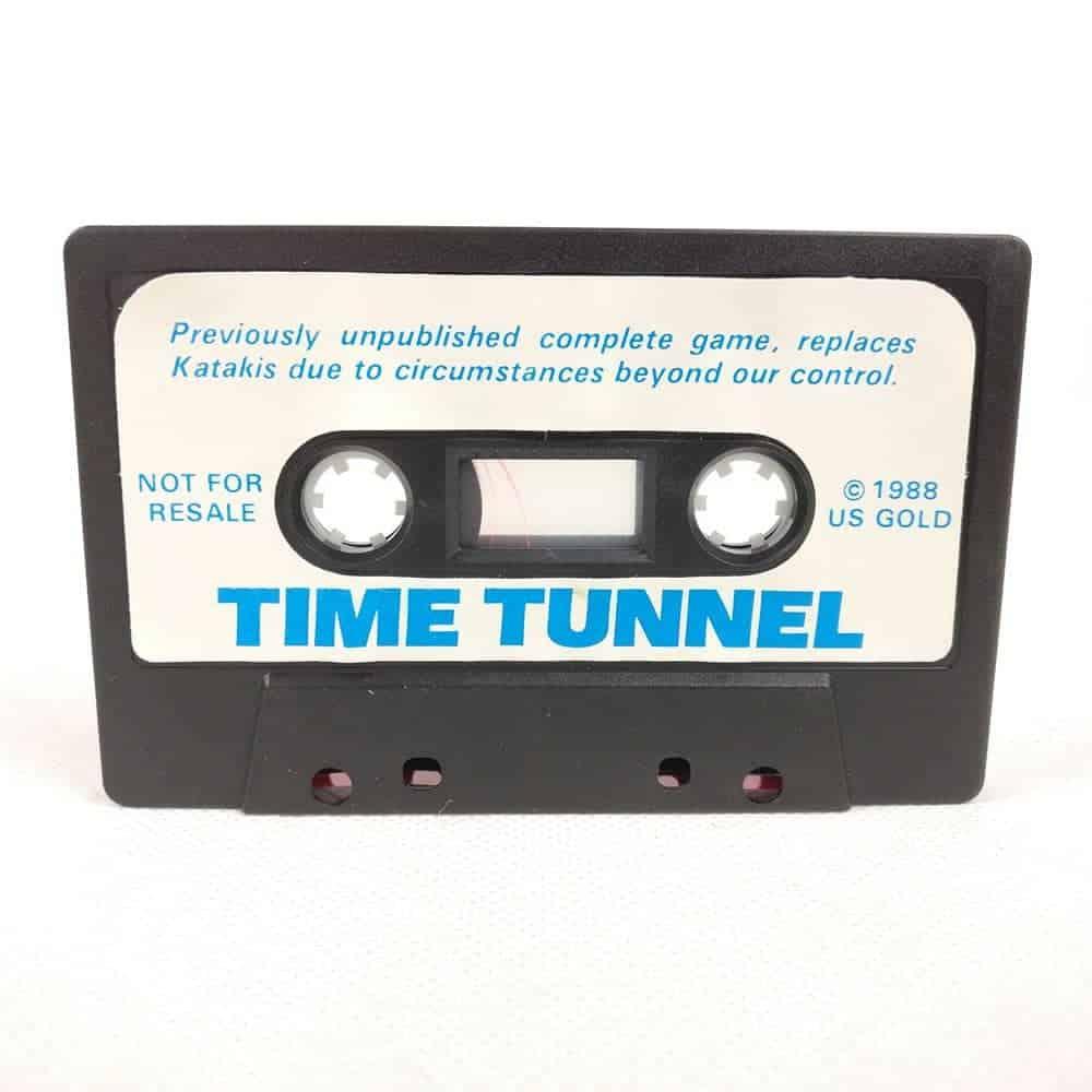 Time Tunnel (Commodore 64 Cassette)