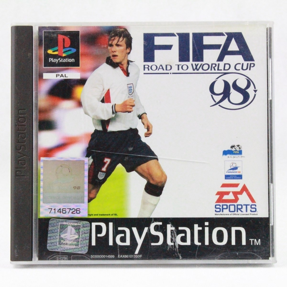 FIFA: Road to World Cup 98 (PS1)