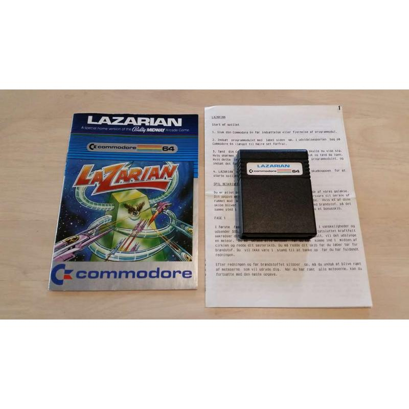 Lazarian (C64 Cartridge) m. manual