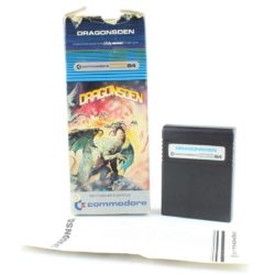 Dragonsden (C64 Cartridge, Boxed)
