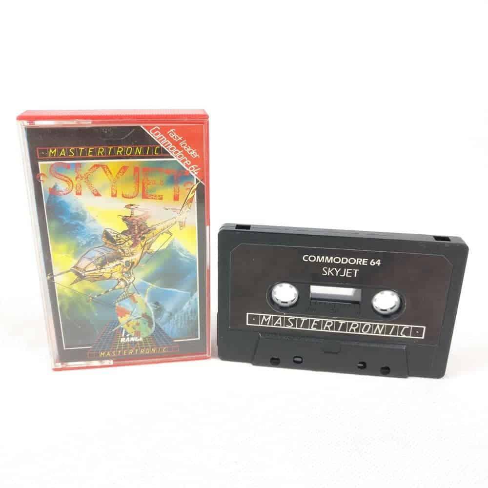 Skyjet (Commodore 64 Cassette)