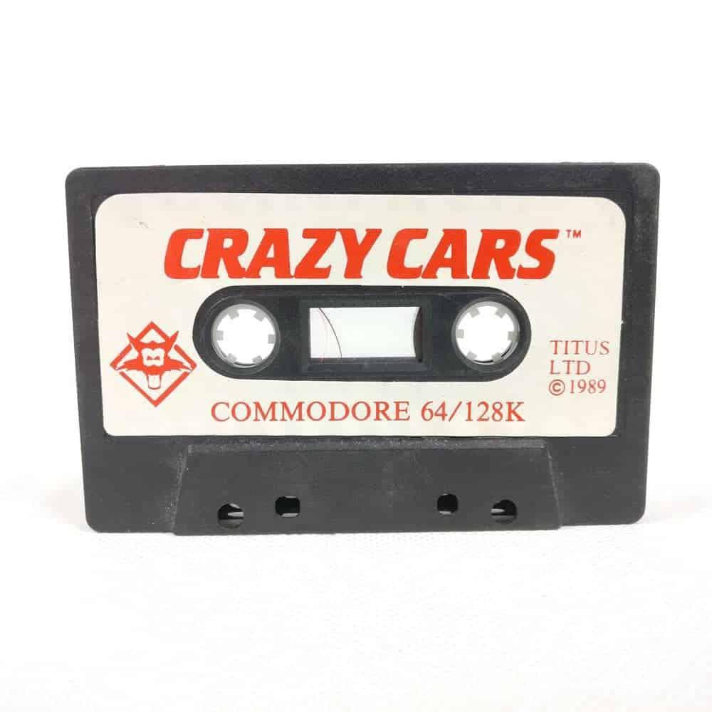 Crazy Cars (Commodore 64 Cassette)