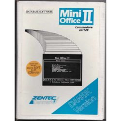 Mini Office II (Dansk Version - C64 Disk)