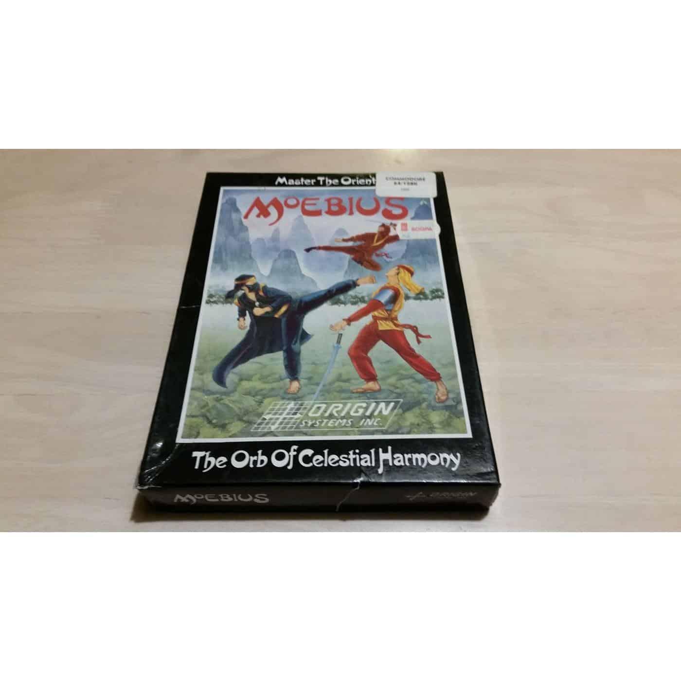 Moebius: The Orb of Celestial Harmony (C64 Disk)