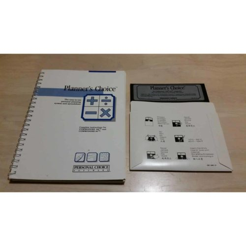 Planner's Choice (C64 Disk)