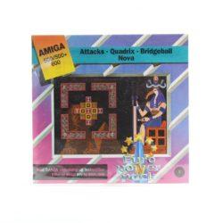 Attacks - Quadrix - Bridgeball - Nova (Amiga, Euro Power Pack)