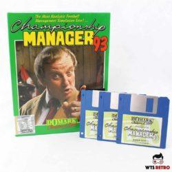 Championship Manager 93 (Amiga).