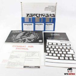 Combat Air Patrol (Amiga) u. omslag til kassen