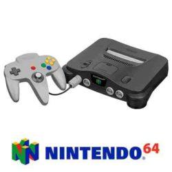 Nintendo 64 Konsol