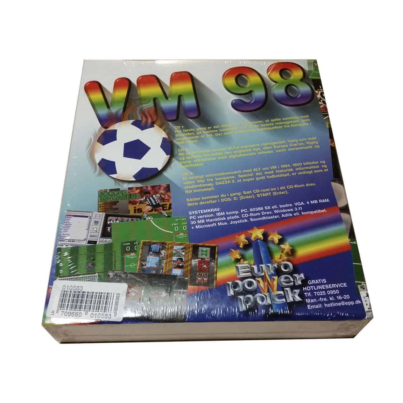 VM 98 - Football Classic Vol 1 (PC Big Box)