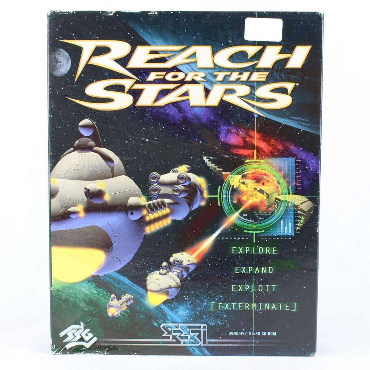 Reach for the Stars (PC Big Box, 2000, Strategic Studies Group)