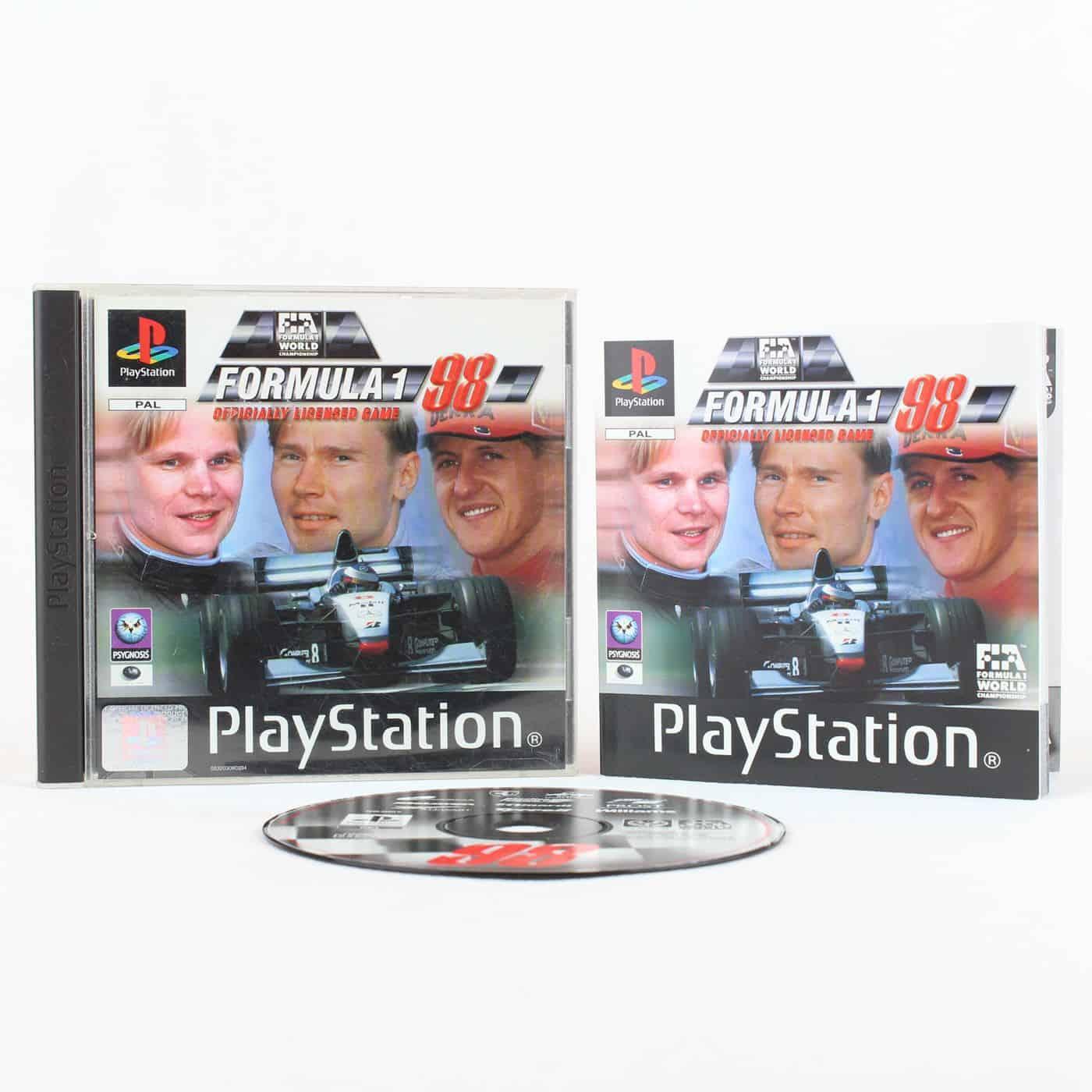 Formula 1 98 (Playstation 1)