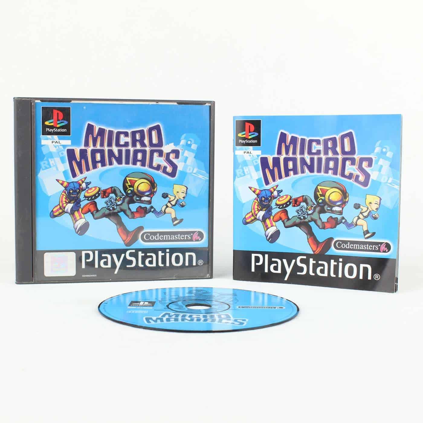 Micro Maniacs (Playstation 1)