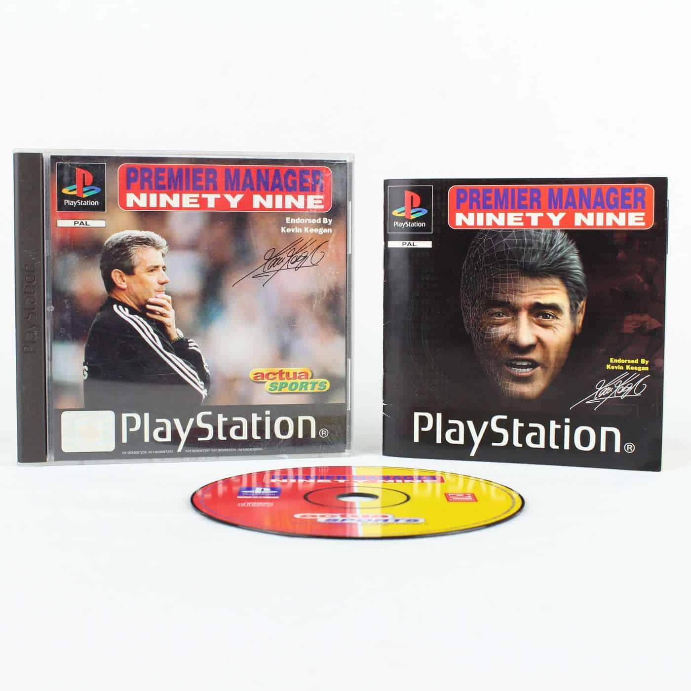 Premier Manager Ninety Nine (Playstation 1)