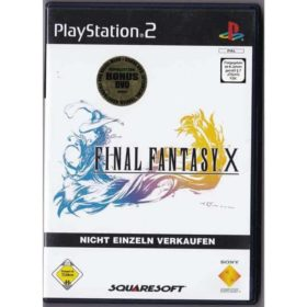 Final Fantasy X (PS2 - Tysk) m. Bonus DVD