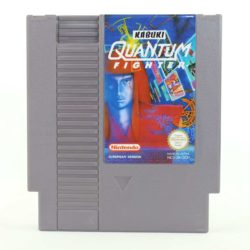 Kabuki: Quantum Fighter (Nintendo NES, PAL-B, SCN)