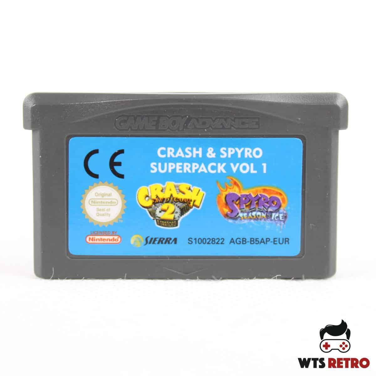 Crash & Spyro Superpack Vol. 1 (Game Boy Advance - GBA)