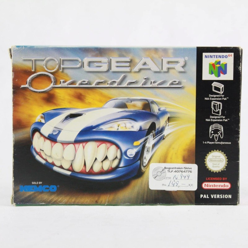 Top Gear: Overdrive (Nintendo 64 - Boxed)
