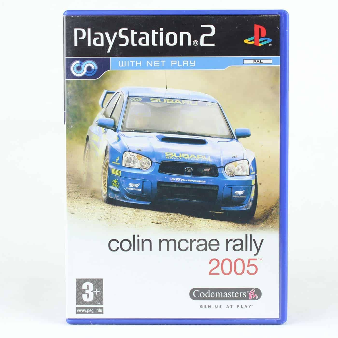 Colin McRae Rally 05 (Platstation 2)