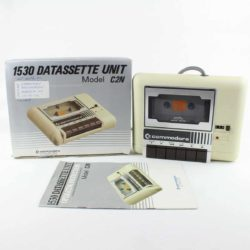 Commodore 1530 (C2N) Datasette m. kasse og manual