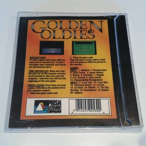 20 Golden Oldies (C64 Disk)