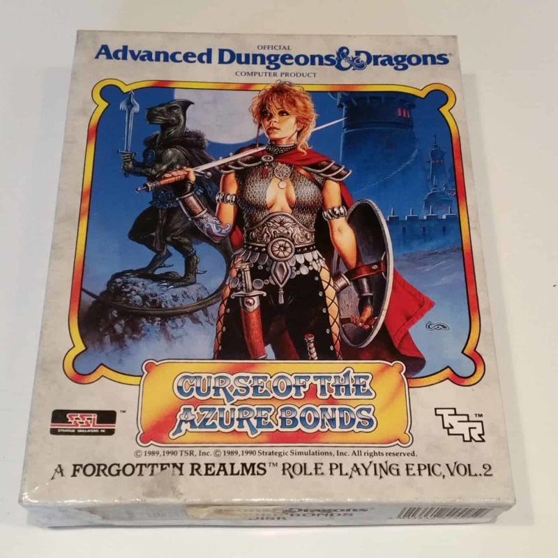 Curse of the Azure Bonds (Commodore 64 - Disk)