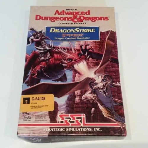 DragonStrike (Commodore 64 - Disk)