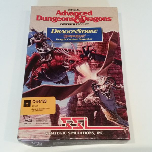DragonStrike (Commodore 64 - Disk)