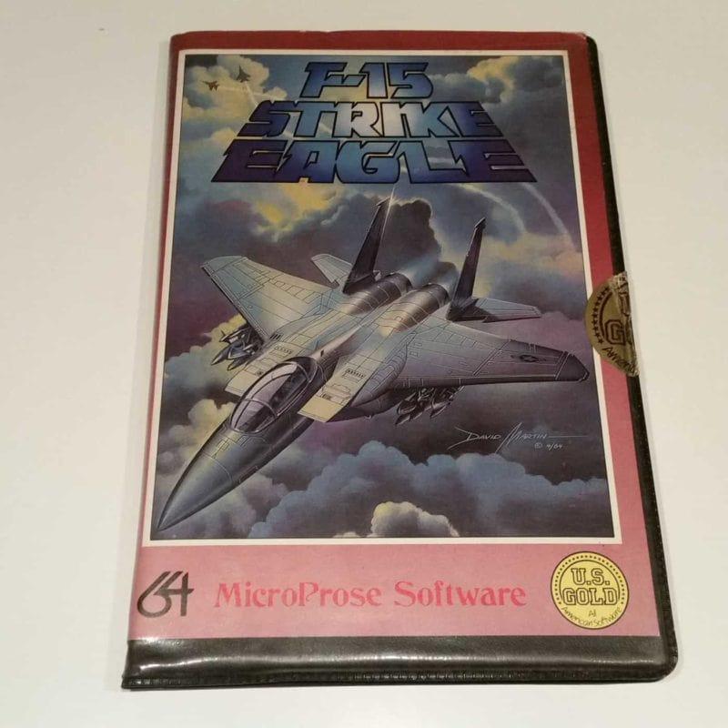 F-15 Strike Eagle (Commodore 64 - Disk)