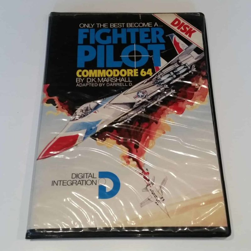 Fighter Pilot (Commodore 64 - Disk)