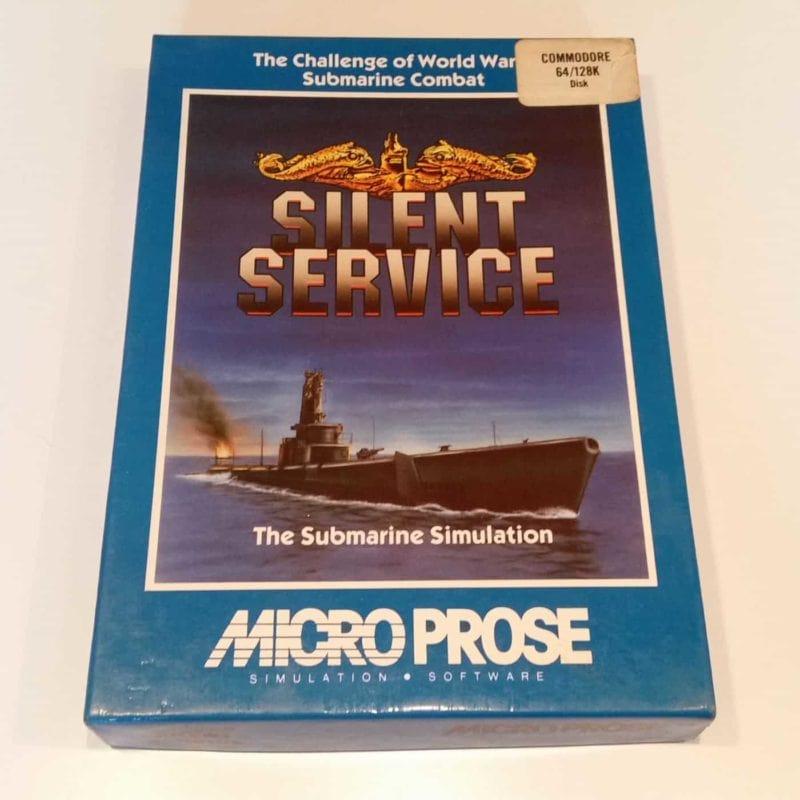 Silent Service (Commodore 64 - Disk)