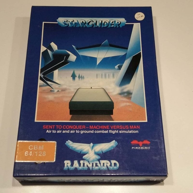 Starglider (Commodore 64 - Disk)