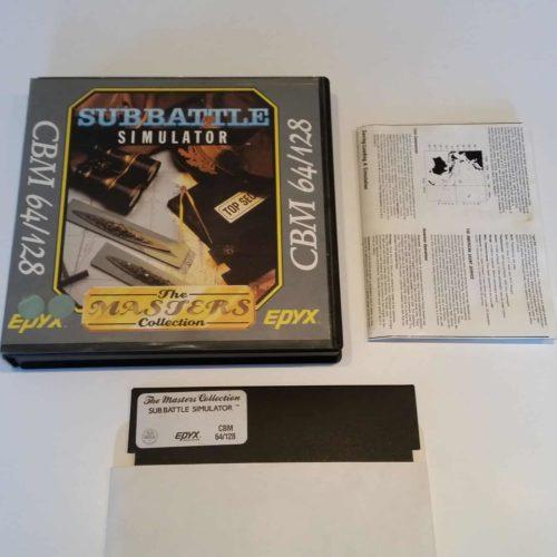 Sub Battle Simulator (Commodore 64 - Disk)