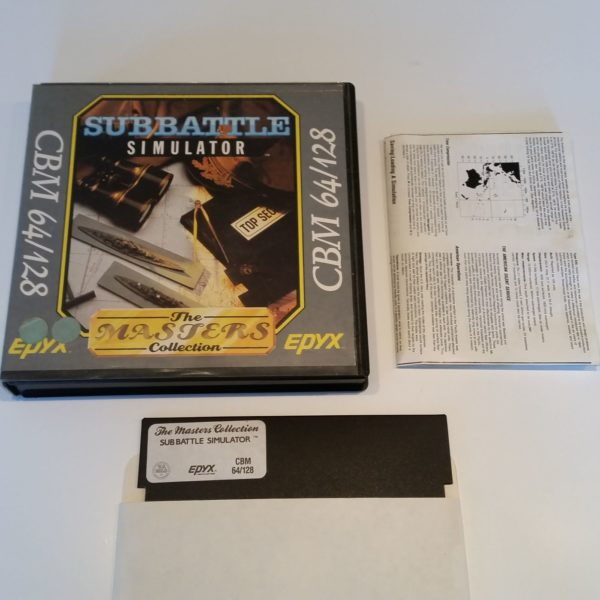 Sub Battle Simulator (Commodore 64 - Disk)