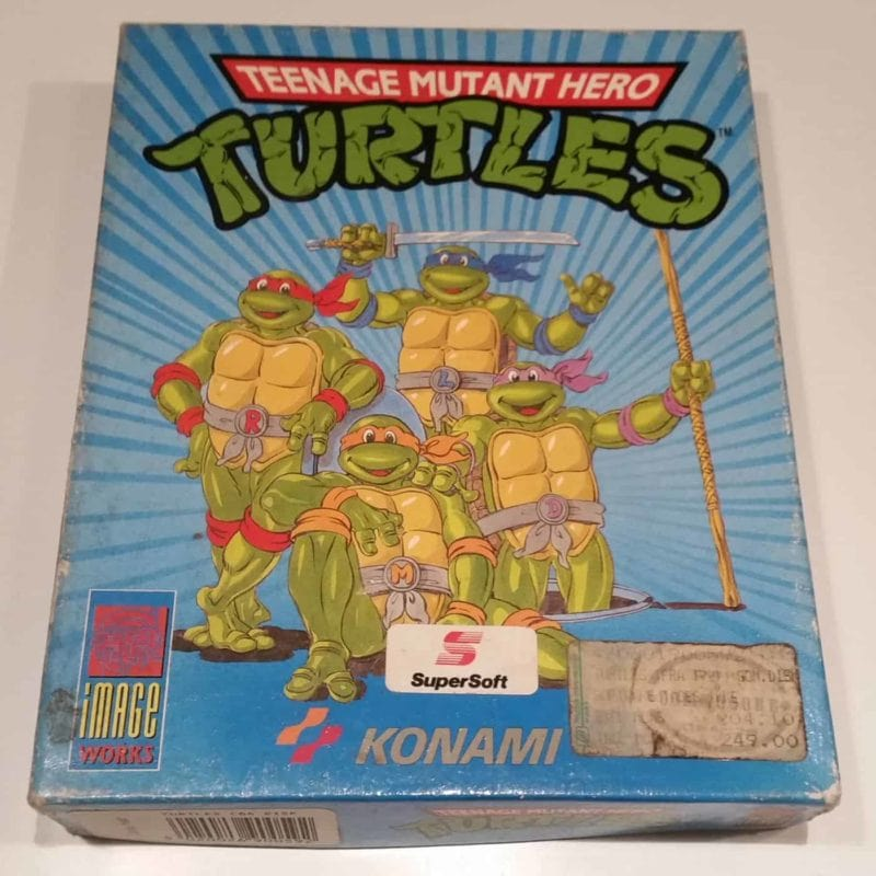 Teenage Mutant Hero Turtles (Commodore 64 - Disk)