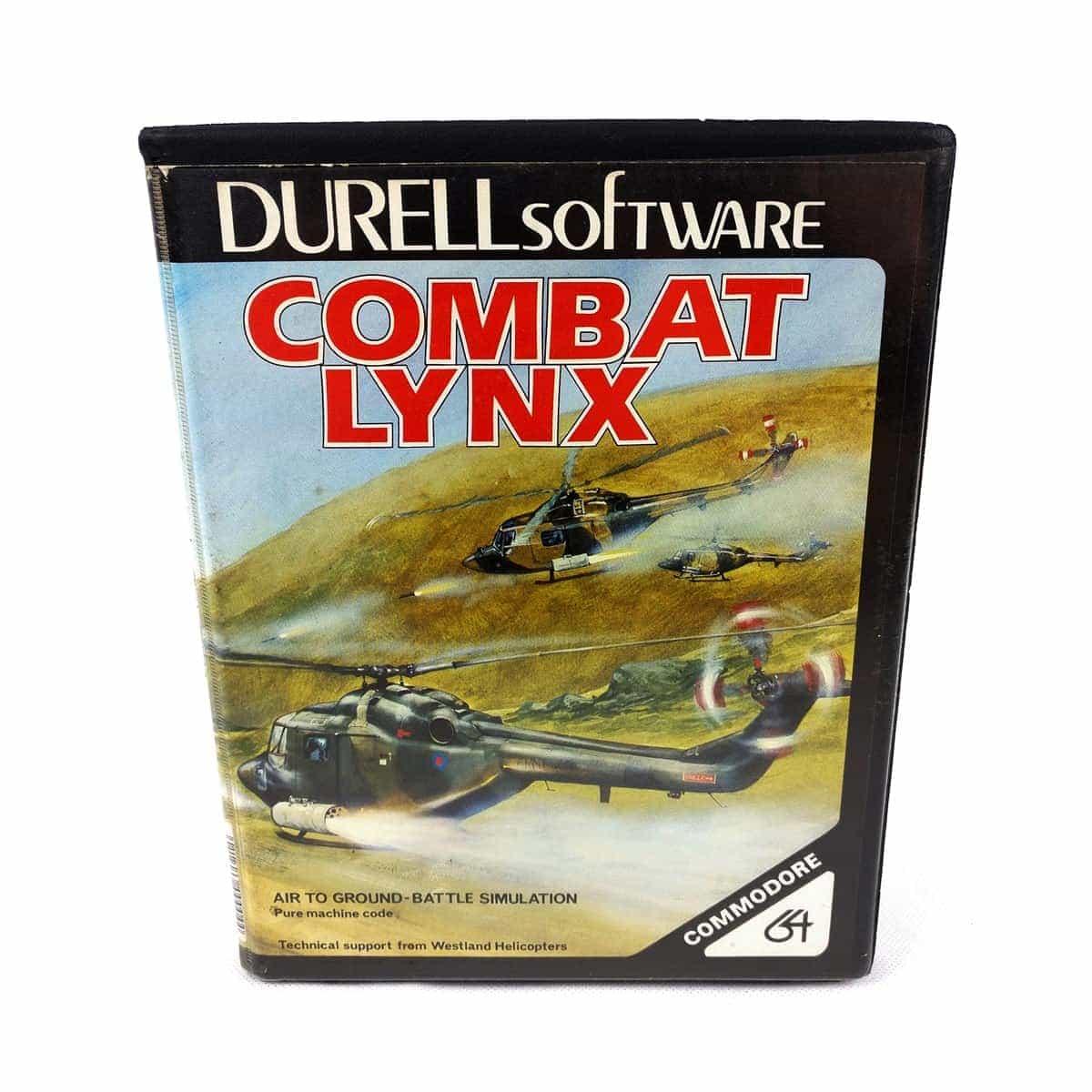 Combat Lynx (C64 Cassette)