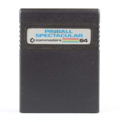 Pinball Spectacular (Commodore 64 - Cartridge)