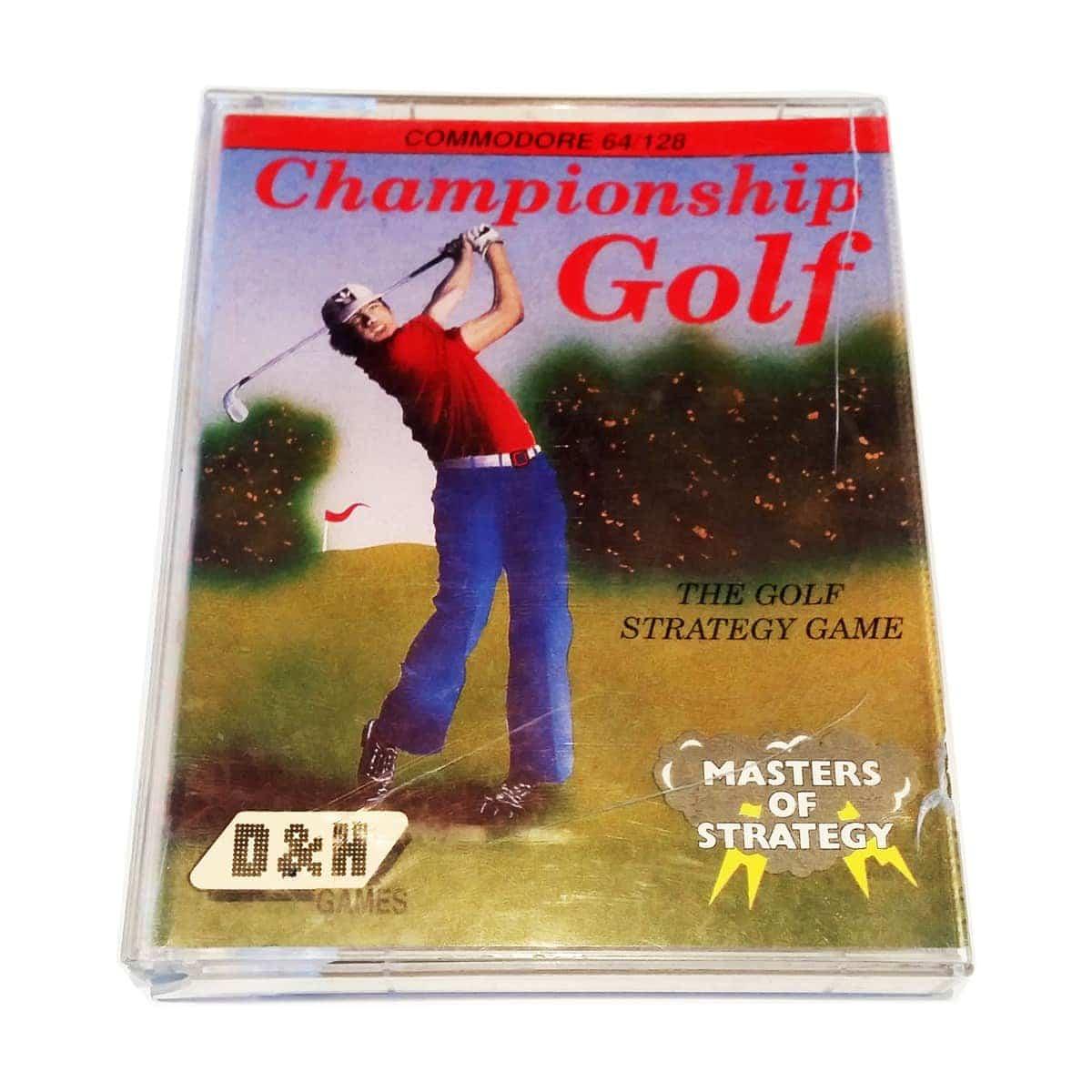 Championship Golf (C64 Cassette)