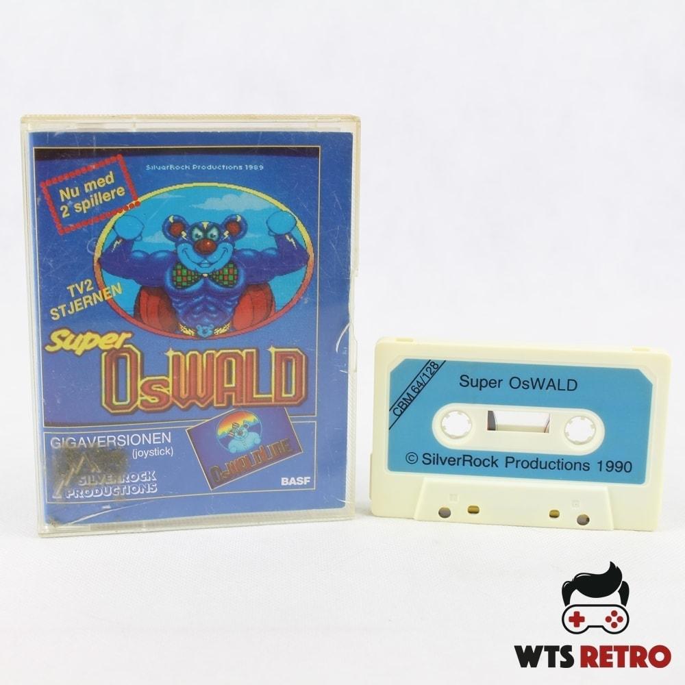 Super OsWALD (Gigaversionen - C64 Cassette)