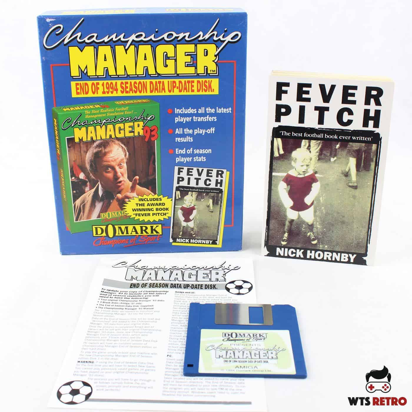 Championship Manager: End of 1994 Season Data Up-date Disk (Amiga)