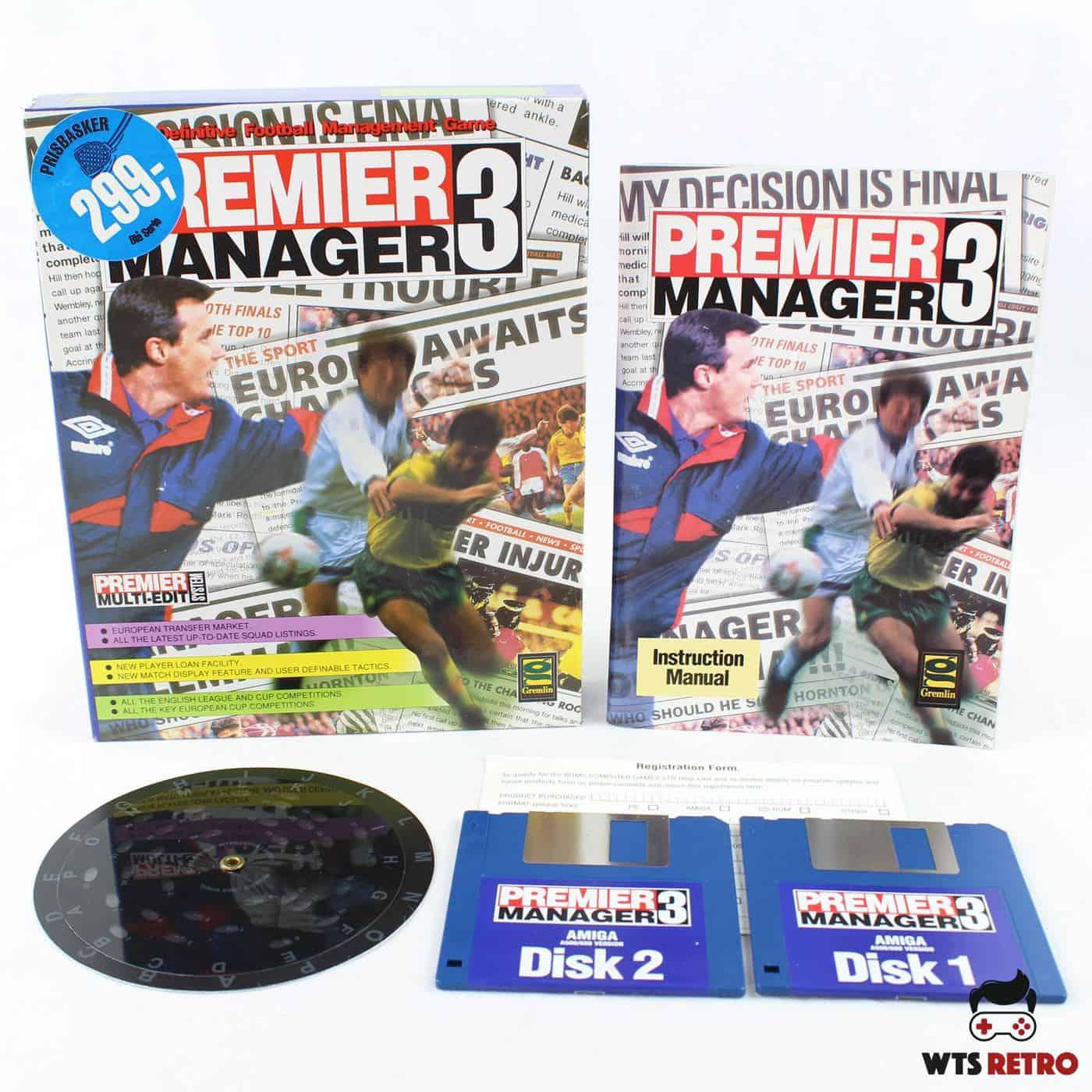 Premier Manager 3 (Amiga)