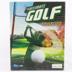 Ultimate Golf Simulation (PC Big Box, 2000, Vertex Multimedia)