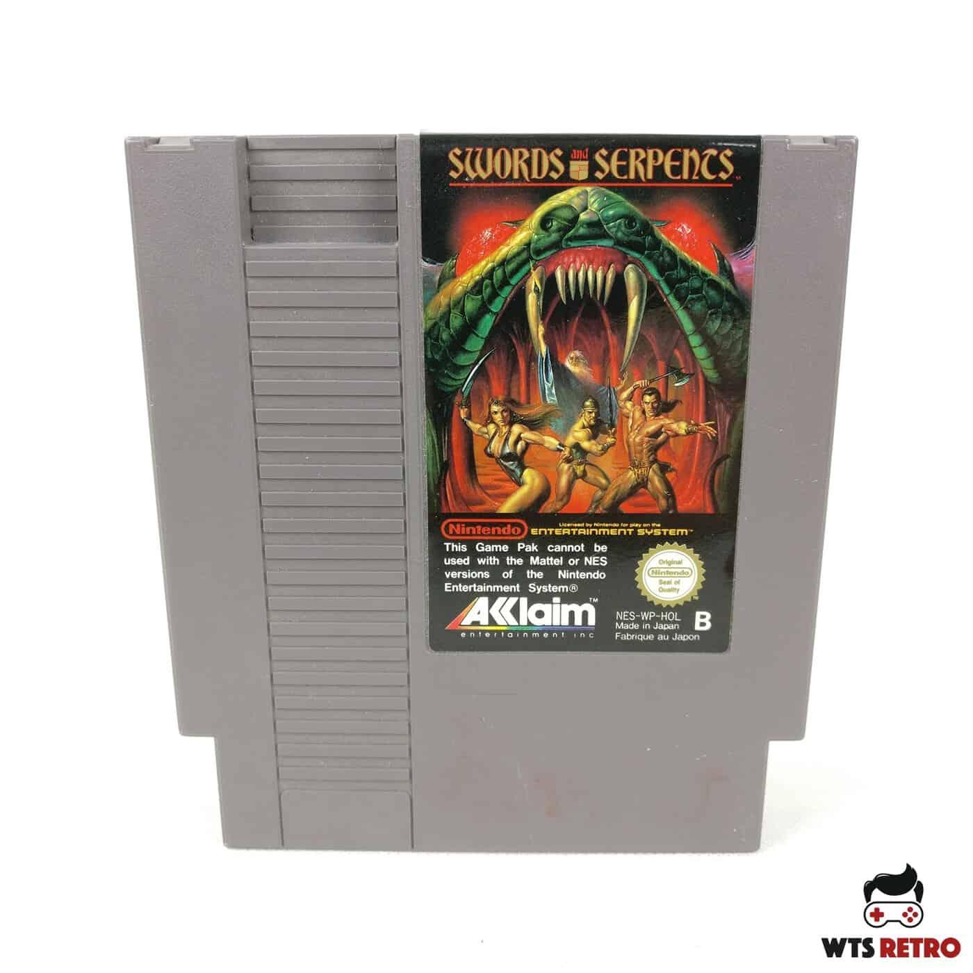 Swords and Serpents (Nintendo NES, PAL-B)
