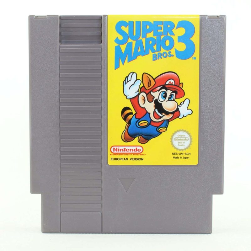 Super Mario Bros. 3 (NES, PAL-B, SCN)